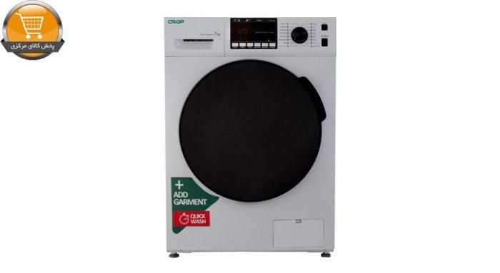 لباسشویی اتومات WFT-27401WT-7Kg سفید درب کروم CROP | پخش کالای مرکزی