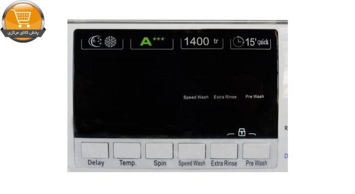 لباسشوییاتومات FTU-4806 ST-8Kg سیلور درب کروم | پخش کالای مرکزی
