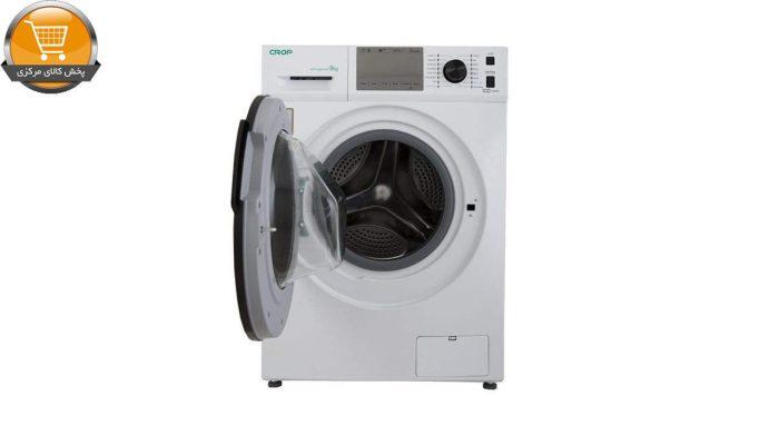 لباسشویی اتومات WFT-49401WT-9Kg سفید درب کروم CROP | پخش کالای مرکزی