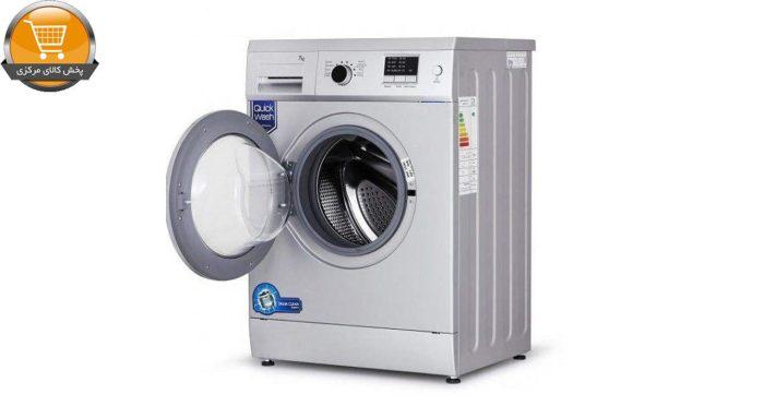 لباسشویی اتومات WFM-28205 ST-8Kg سیلور درب کروم CROP | پخش کالای مرکزی