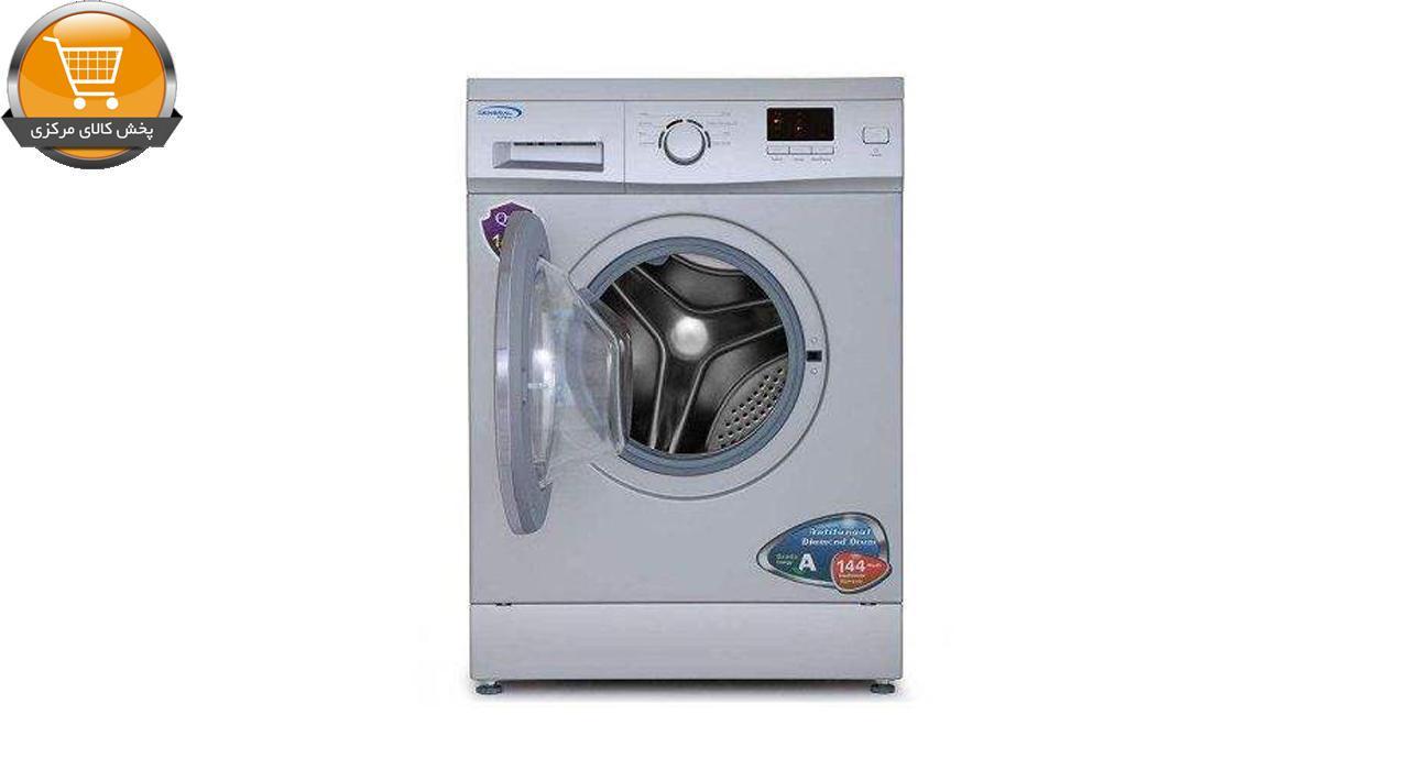 لباسشویی اتومات FMU-2717 ST-7KG سیلور درب کروم | پخش کالای مرکزی