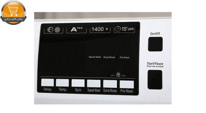 لباسشوییاتومات FTU-4703 WT-7Kg سفید درب کروم | پخش کالای مرکزی