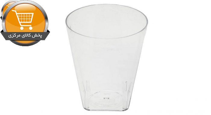 لیوان یکبار مصرف کوشا مدل Luxe 50 بسته 12 عددی | پخش کالای مرکزی