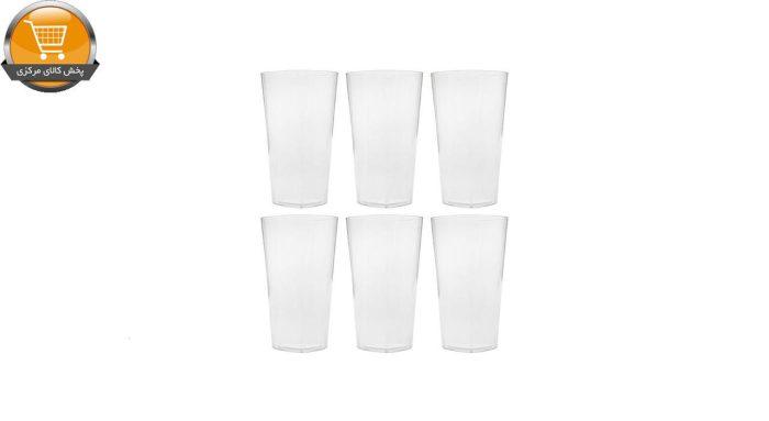 لیوان یکبار مصرف کوشا مدل Lona 330 بسته 6 عددی | پخش کالای مرکزی