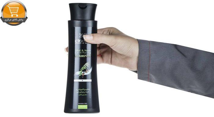 شامپو تقویت کننده مردانه سینره مدل Sabal And Neem Fortifying حجم 250 میلی لیتر   پخش کالای مرکزی