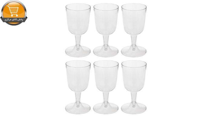 لیوان یکبار مصرف کوشا مدل Pars E102 بسته 6 عددی | پخش کالای مرکزی