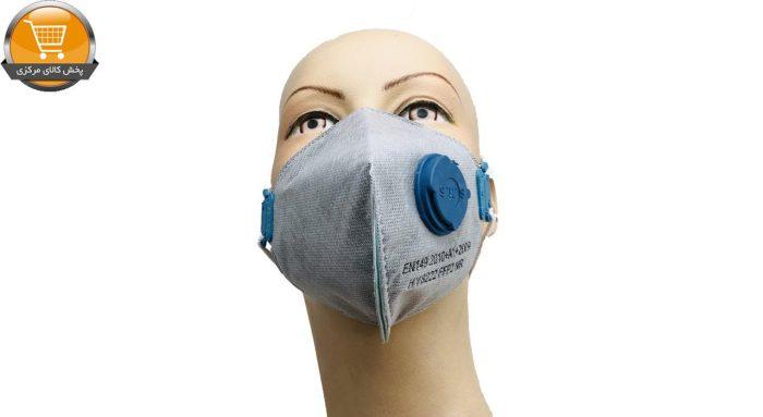 ماسک فیلتر دار FFP2 به همراه کربن فعال سه لایه
