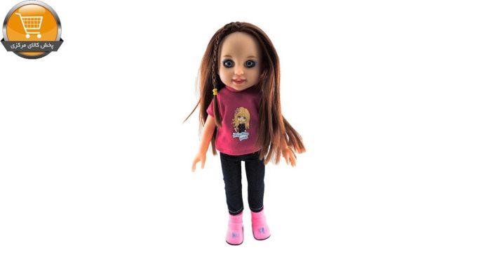 عروسک طرح دختر مدل 7157 ارتفاع 30 سانتی متر | پخش کالای مرکزی