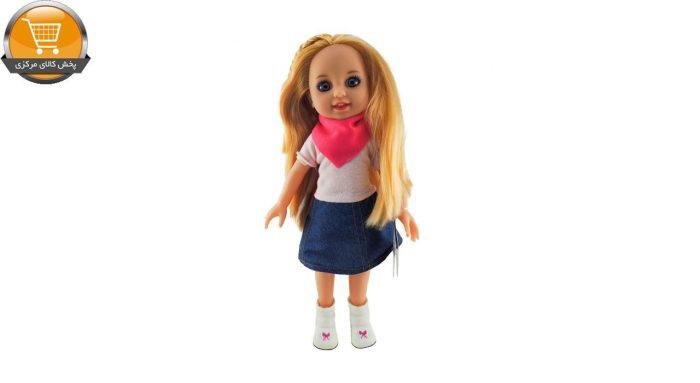 عروسک طرح دختر مدل 7158 ارتفاع 30 سانتی متر | پخش کالای مرکزی