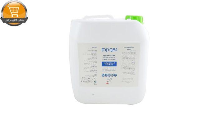 محلول پاک کننده دست دکودرم 4 لیتری | پخش کالای مرکزی