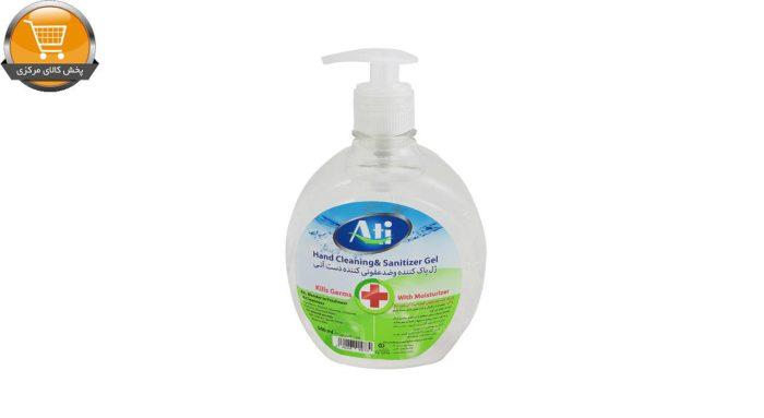 ژل پاک کننده و ضد عفونی کننده 500 میل آتی | پخش کالای مرکزی