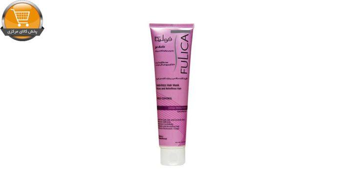 ماسک مو فولیکا مناسب موهای شکننده و وزدار حجم100 میلی لیتر | پخش کالای مرکزی