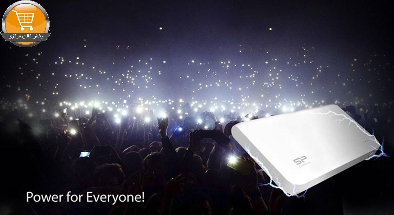 شارژر همراه سیلیکون پاور مدل S200 ظرفیت 20000 میلی آمپر ساعت | پخش کالای مرکزی