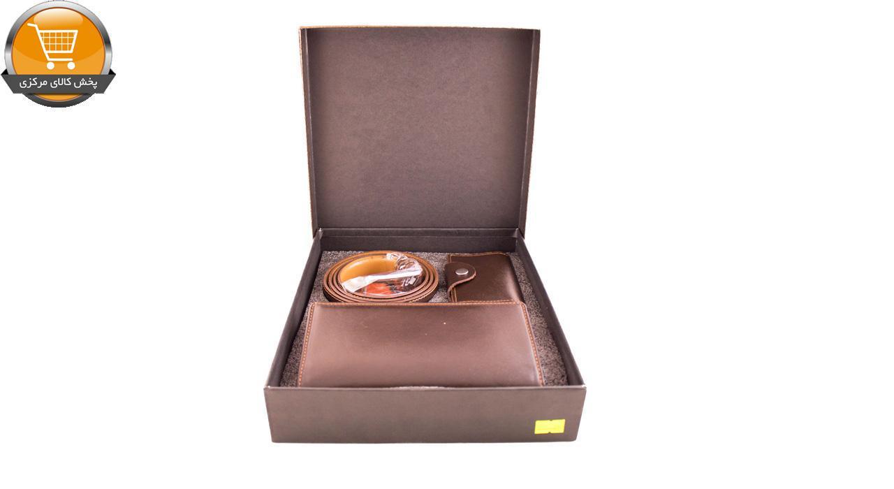 ست کیف پول و کمربند مدل 5414 | پخش کالای مرکزی