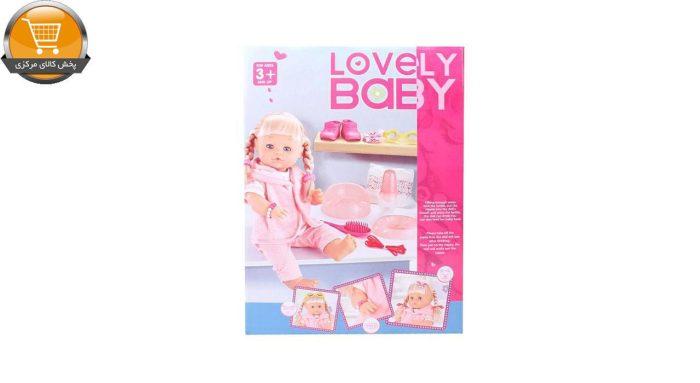 عروسک وارم بیبی مدل Lovely Baby | پخش کالای مرکزی