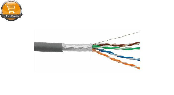 01دی لینک کابل شبکه CAT6 دارای فویل با روکش پی وی سی NCB-C6SGRYR-305 | پخش کالای مرکزی