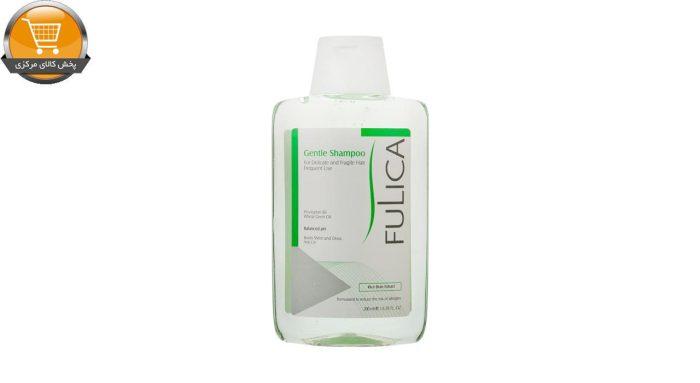 شامپو ملایم فولیکا جهت مصرف روزانه مخصوص موهای حساس و شکننده حجم 200 میلی لیتر | پخش کالای مرکزی