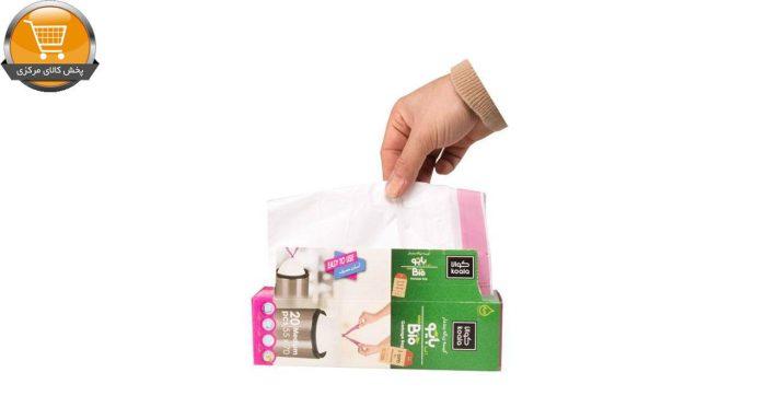 کیسه زباله کوالا مدل بند دار کد 163-2 2 بسته 20 عددی | پخش کالای مرکزی