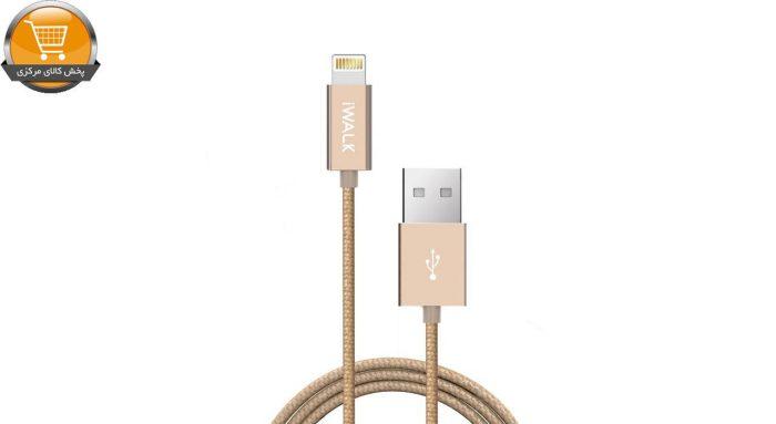 کابل تبدیل USB به لایتنینگ آی واک مدل CSS002L طول 2 متر | پخش کالای مرکزی