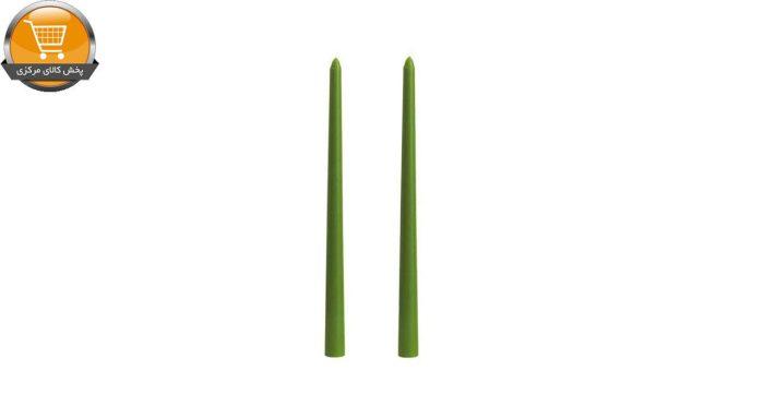 شمع قلمی شمع مینا مدل Delight 11002G01 بسته 2 عددی | پخش کالای مرکزی