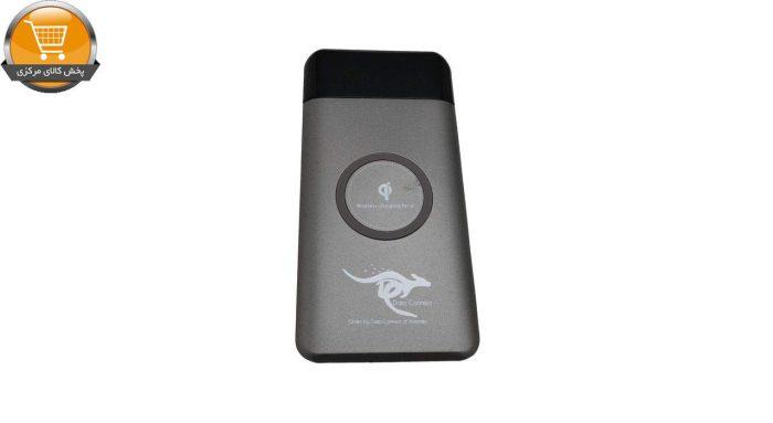 شارژر همراه بی سیم دیتا کانکت ظرفیت 10000 میلی آمپرساعت | پخش کالای مرکزی