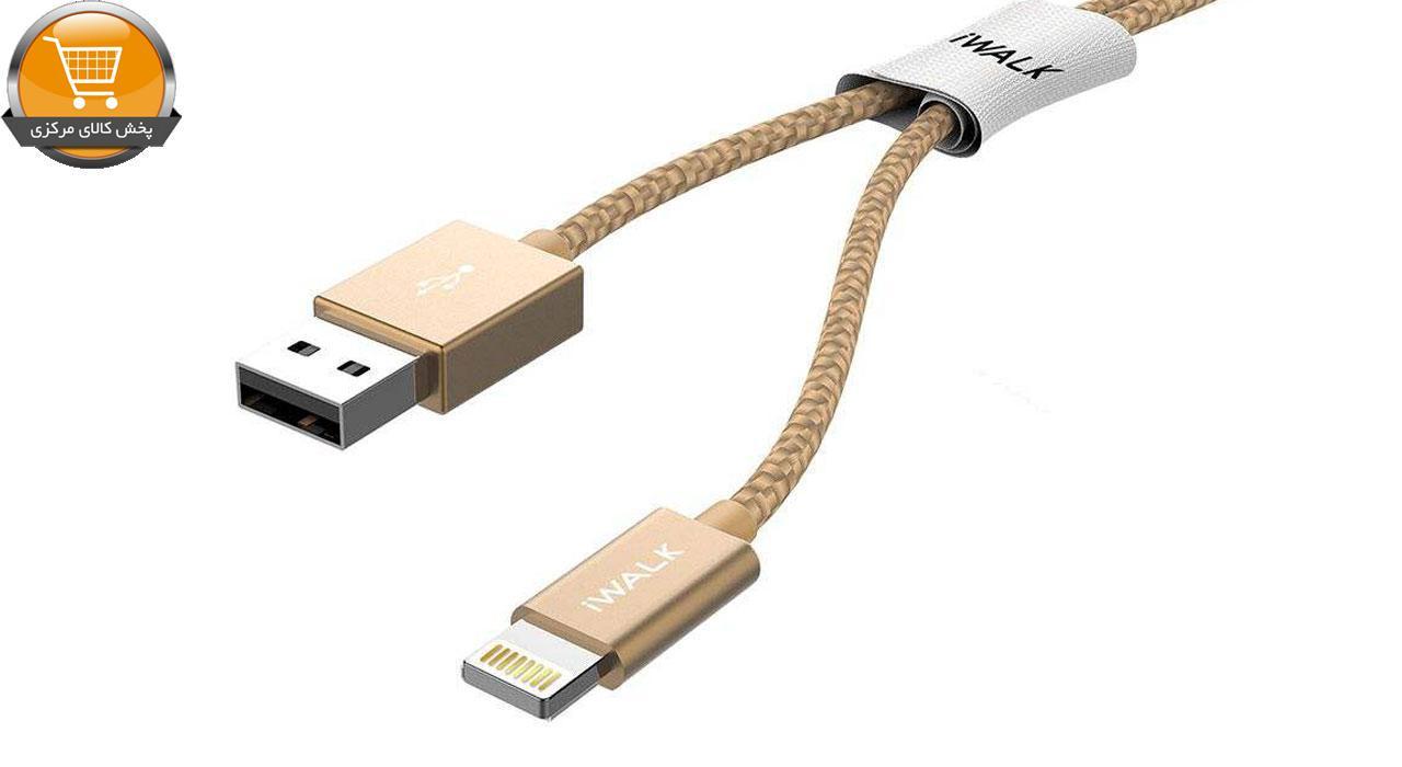 کابل تبدیل USB به لایتنینگ آی واک مدل CSS002L طول 2 متر   پخش کالای مرکزی