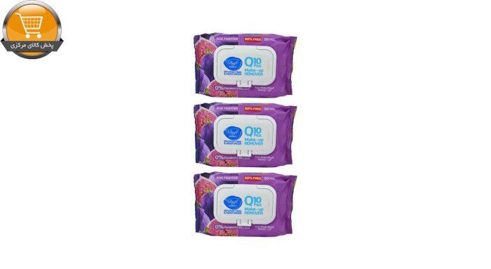 دستمال مرطوب دافی مدل A2 Q10 مجموعه 3 عددی | پخش کالای مرکزی