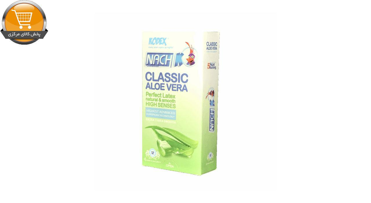 کاندوم ناچ مدل Classic بسته 12 عددی | پخش کالای مرکزی