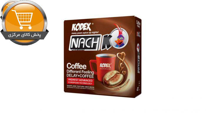 کاندوم کدکس مدل Coffee بسته 3 عددی | پخش کالای مرکزی