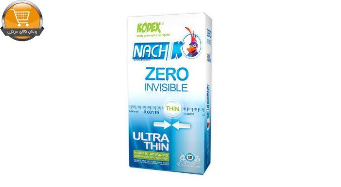 کاندوم کدکس مدل Zero Invisible بسته 12 عددی | پخش کالای مرکزی