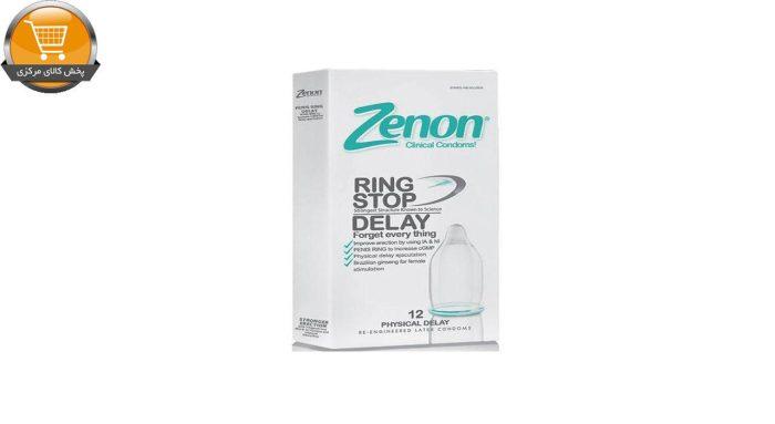 کاندوم زنون مدل RING STOP بسته 12 عددی | پخش کالای مرکزی