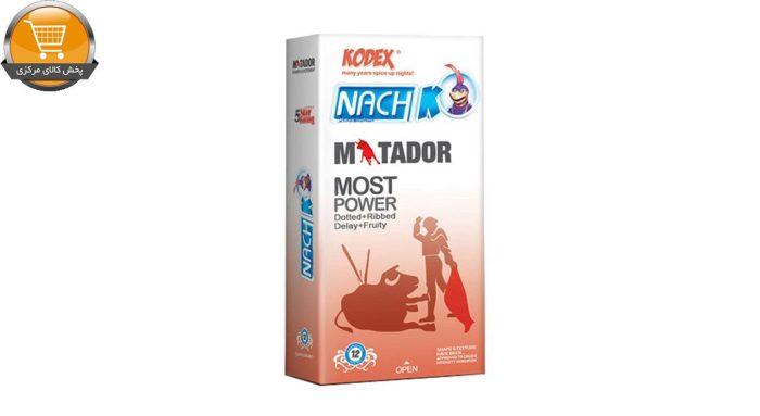 کاندوم خاردار و حلقوی کدکس مدل Matador بسته 12 عددی | پخش کالای مرکزی
