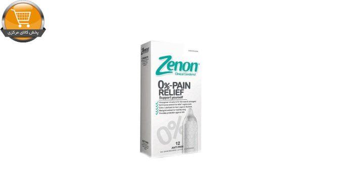 کاندوم زنون مدل PAIN RELIEF بسته 12 عددی | پخش کالای مرکزی