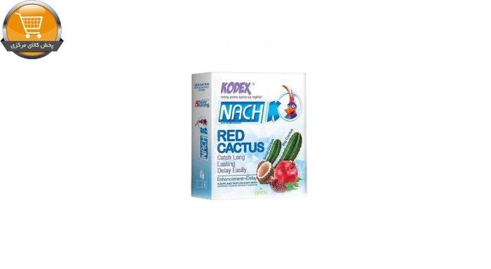 کاندوم ناچ کدکس مدل Red cactus بسته 3 عددی | پخش کالای مرکزی