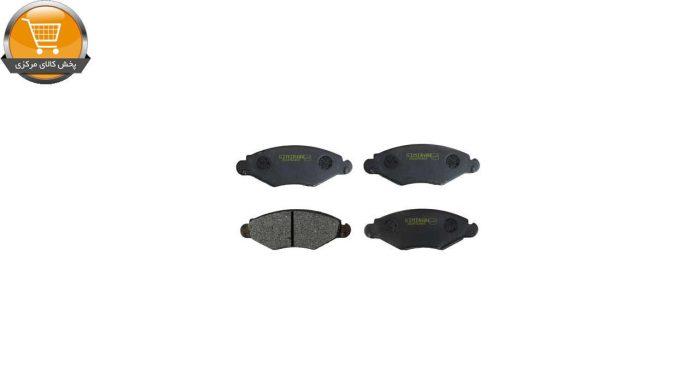 لنت ترمز جلو سیمیران مدل 2162 مناسب برای پژو 206 تیپ دو | پخش کالای مرکزی