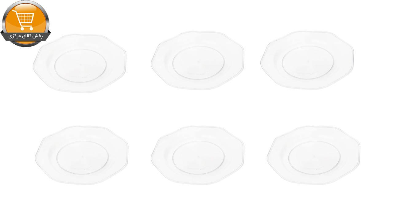 پیش دستی یکبار مصرف کد TPO01 بسته 6 عددی | پخش کالای مرکزی