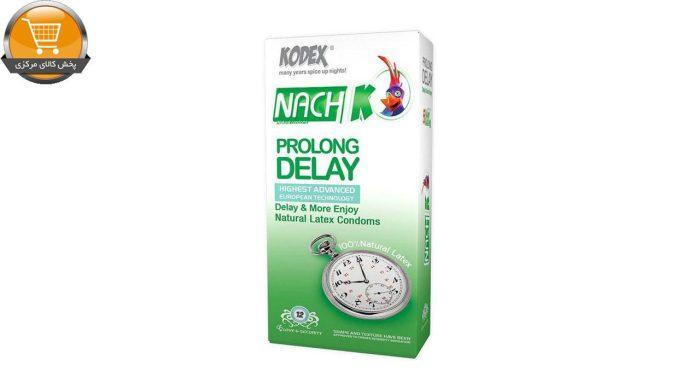 کاندوم کدکس مدل Prolong Delay بسته 12 عددی | پخش کالای مرکزی