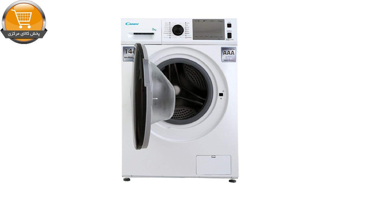 لباسشوییاتوماتGIT-4418 WT-8Kgسفید درب مشکی | پخش کالای مرکزی