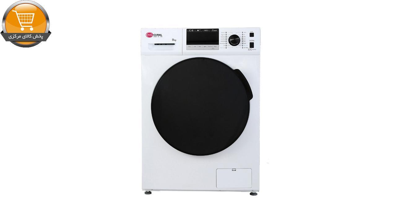 لباسشویی اتومات TFW-49413 ST-9Kg سیلور درب کروم | پخش کالای مرکزی