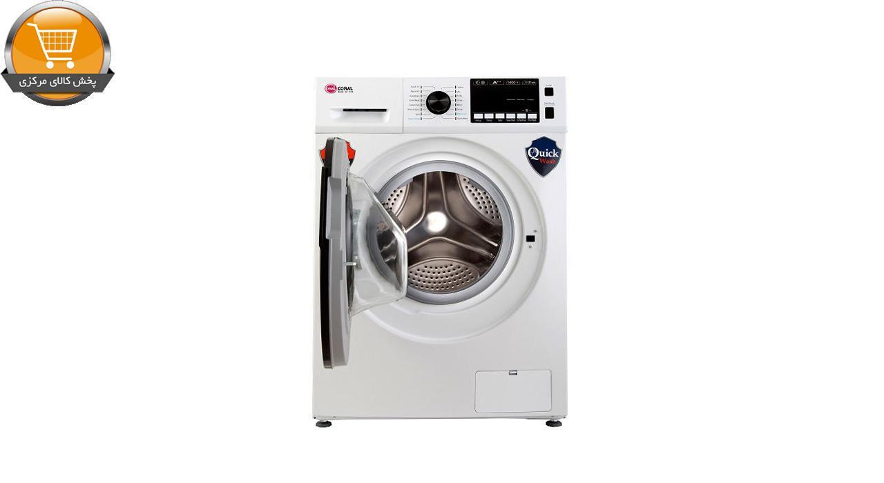 لباسشوییاتوماتTFW-28415 WT-8Kgسفید درب کروم | پخش کالای مرکزی