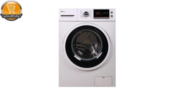 لباسشویی اتوماتیک WU-24816 W-8KG سفید درب کروم | پخش کالای مرکزی