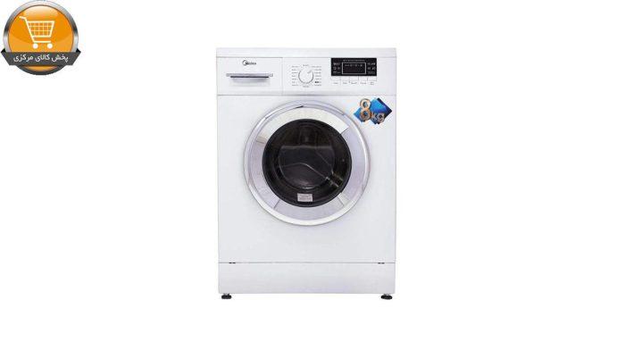 لباسشویی اتوماتیک WU-24804 W-8KG سفید درب کروم | پخش کالای مرکزی