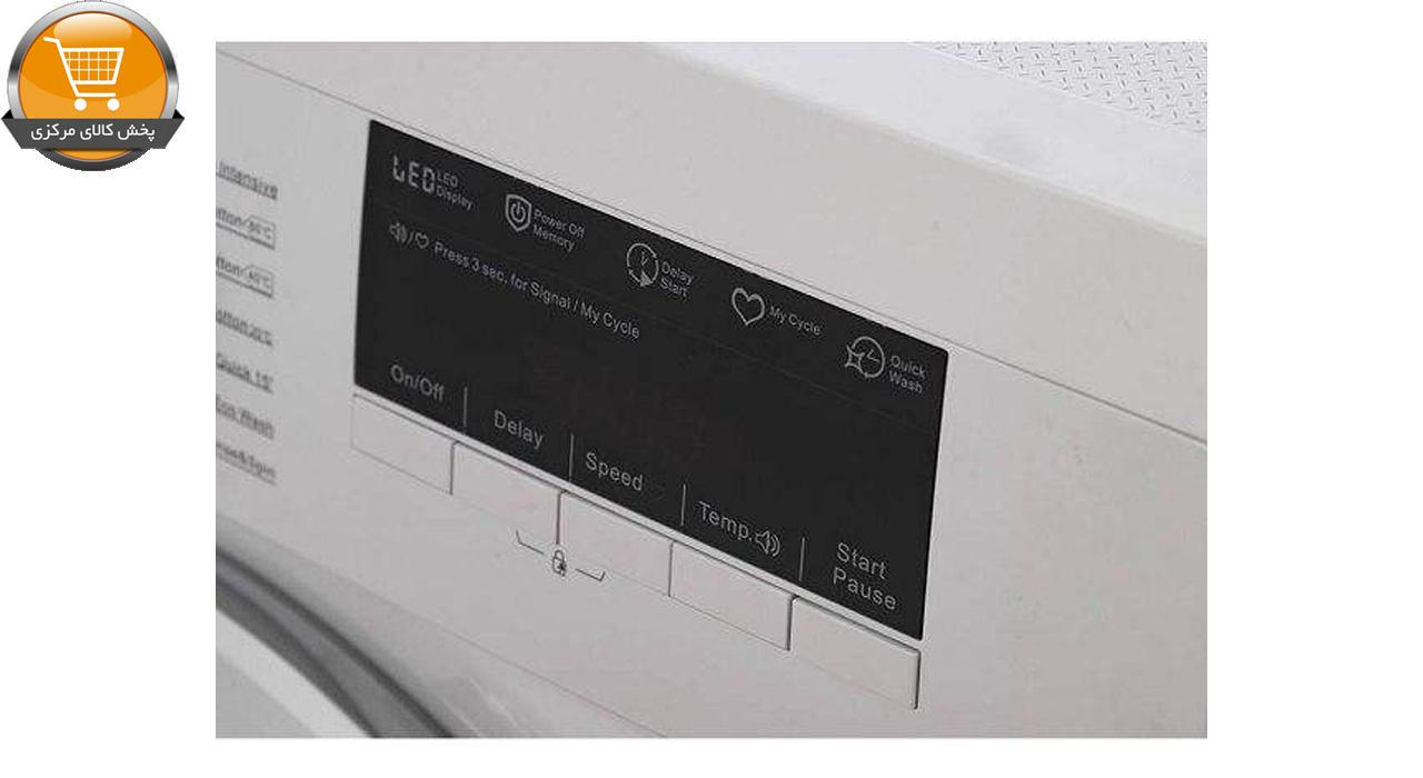 لباسشویی اتوماتیک WU-20603 W-6KG سفید درب کروم   پخش کالای مرکزی