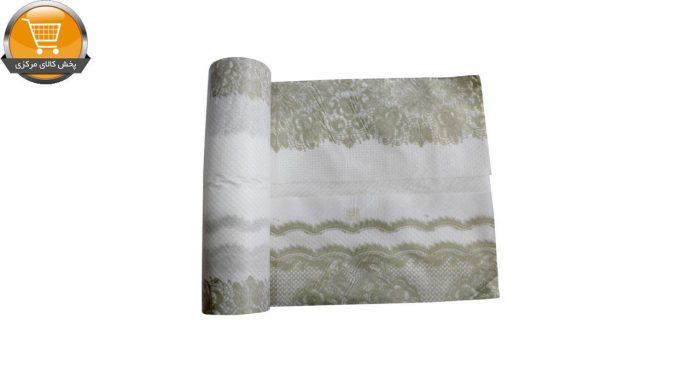 سفره یکبار مصرف کوالا مدل cotton کد va2000_004 رول 10 متری | پخش کالای مرکزی