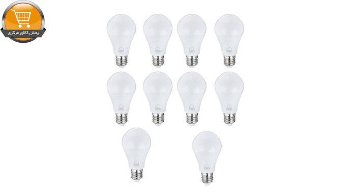 لامپ ال ای دی 10 وات بروکس مدل 5322-A60 پایه E27 بسته 10 عددی | پخش کالای مرکزی