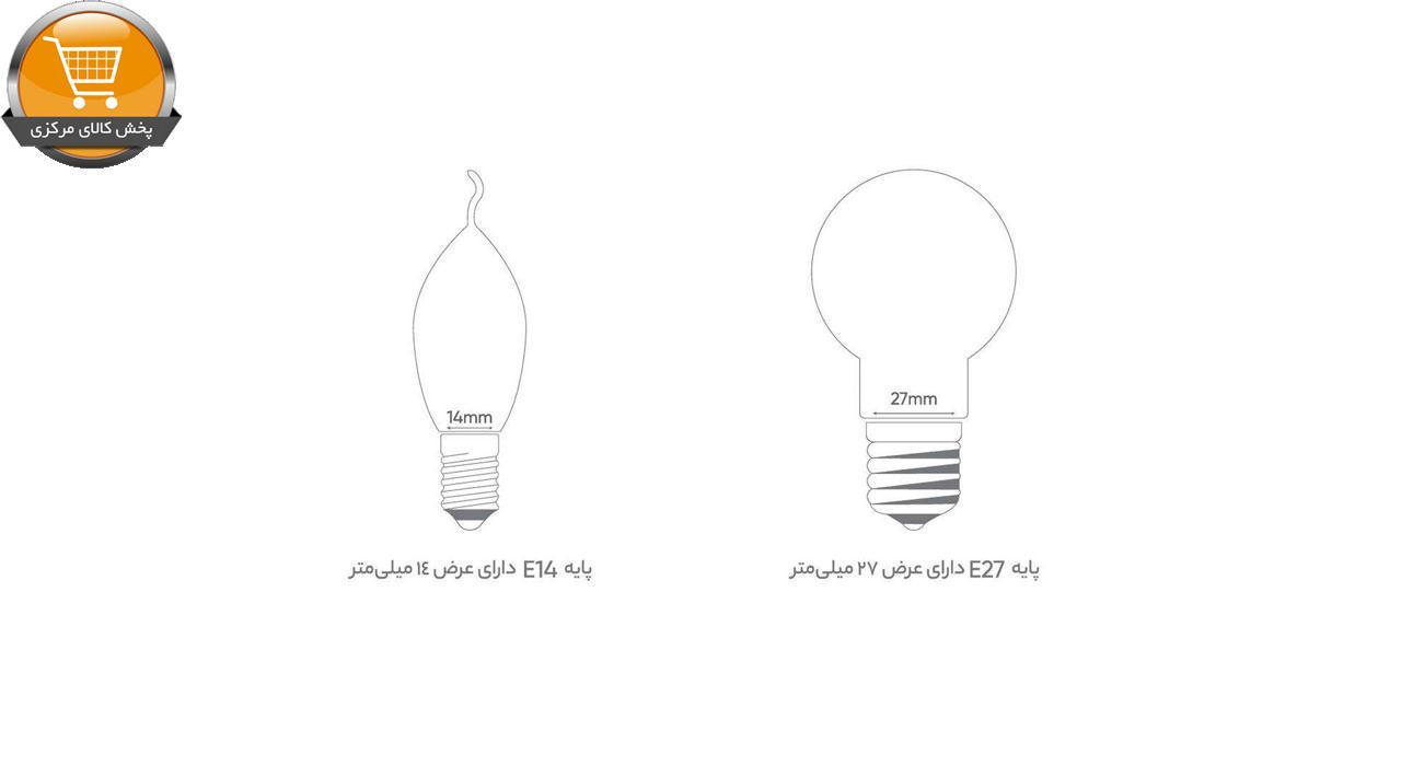 لامپ LED بروکس 10 وات مدل A60 پایه E27 بسته 10 عددی | پخش کالای مرکزی