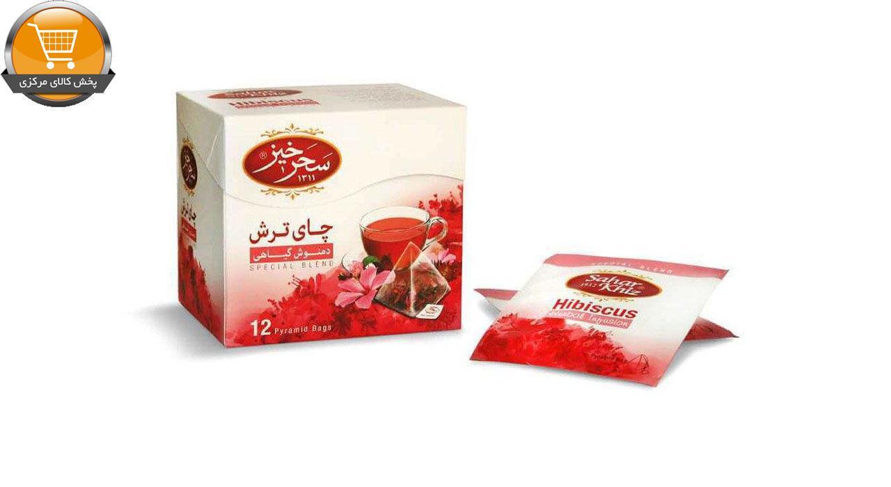 دمنوش چای ترش سحرخیز بسته 12 عددی | پخش کالای مرکزی