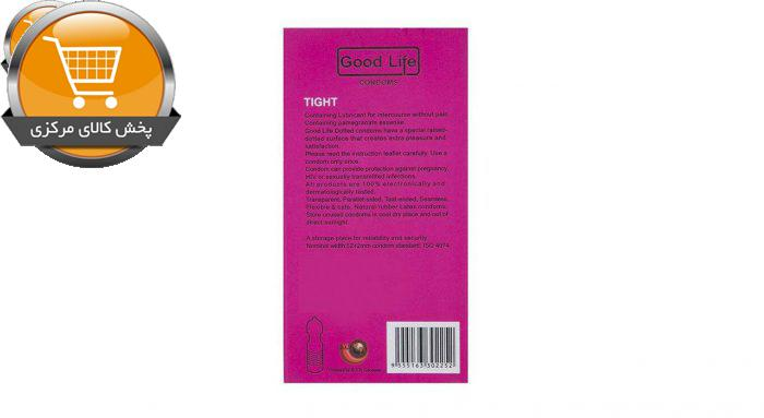 کاندوم گودلایف مدل Tight بسته 12 عددی | پخش کالای مرکزی