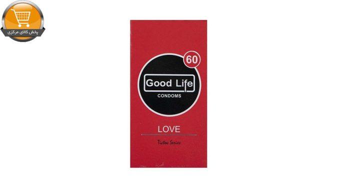 کاندوم گودلایف مدل Love بسته 12 عددی | پخش کالای مرکزی