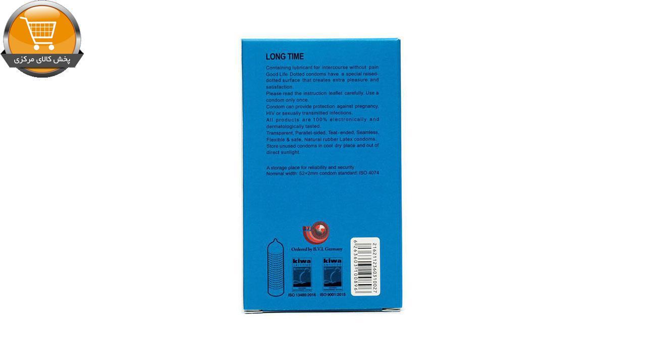 کاندوم گودلایف سری ایموجی مدل Long Time بسته 6 عددی   پخش کالای مرکزی